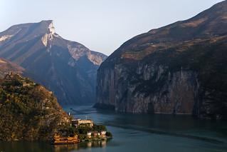 El río Yangtsé.
