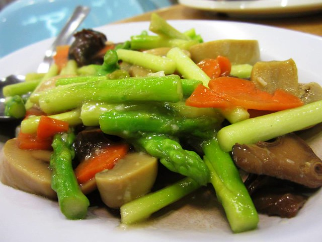 Ming Mei Shi fried asparagus