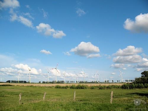 Die Windräder sind nur wenige Tagesreisen entfernt