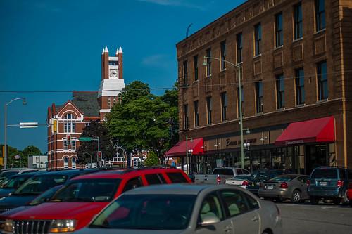 county high iowa courthouse avenue oskaloosa mahaska