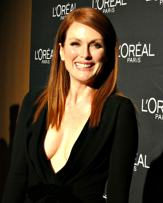 L'Oreal-Paris-TIFF14-Julianne-Moore-red-carpet