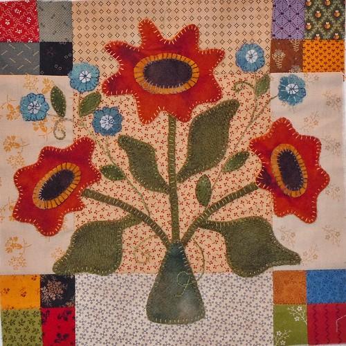 Sunflower Gatherings block 5