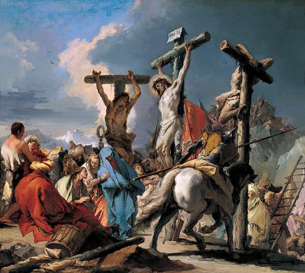 The Crucifixion by Giambattista Tiepolo