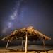 Milky Way Above the Windansea Shack by Sandra Slead
