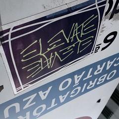 ELEVATE #Sampa #streetart #sticker