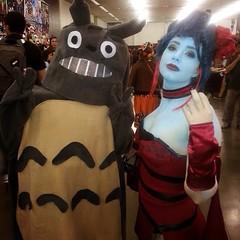 throwback to #Fanime 2014. Does anyone know the character she is?? #mysterycosplay #mochibytestv #totoro #cosplay youtube.com/mochibytestv