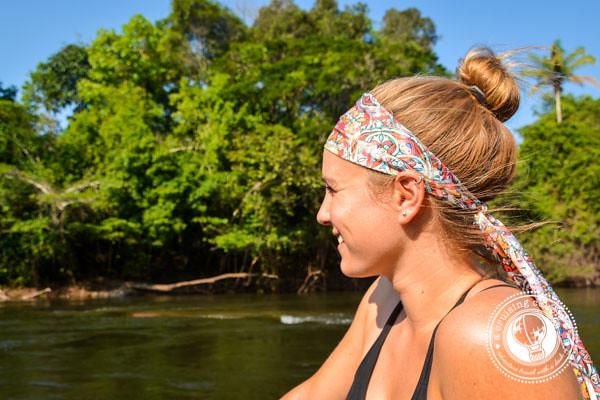 A Cruising Couple River Boat Southern Amazon