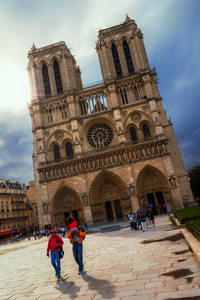 The Steps of Notre Dame