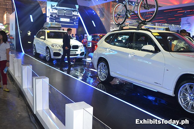 BMW exhibit booth