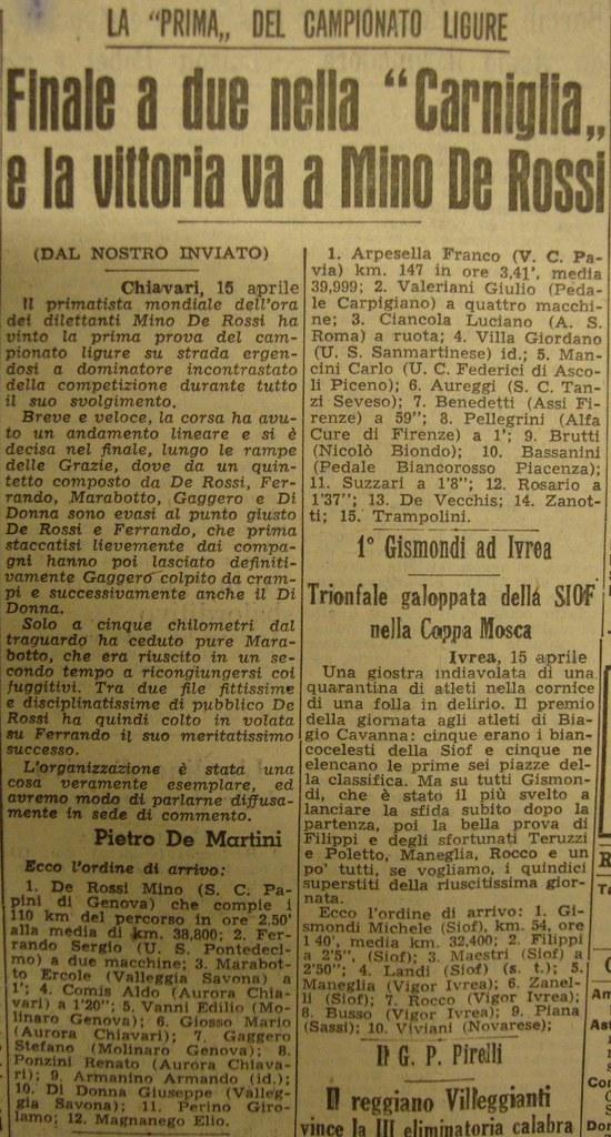 Campionato Ligure 1951