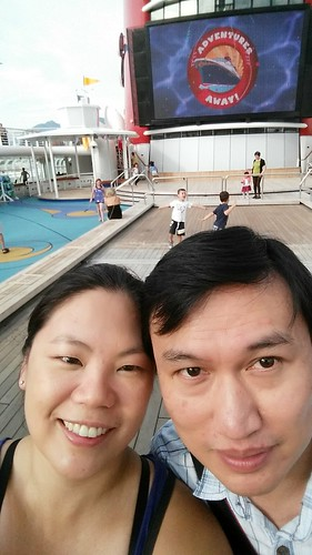 First selfie of the cruise on my fancy new camera phone