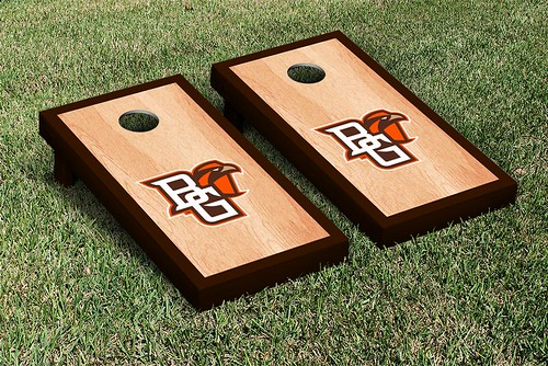 Bowling Green Falcons Cornhole Game Set Hardcourt Version