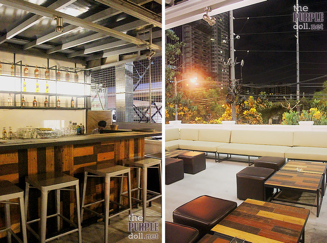 Detalle Al Fresco Bar