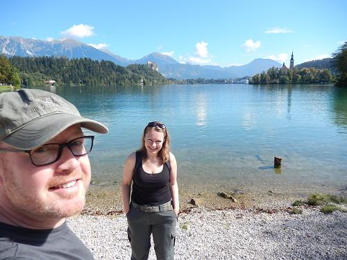 Lake Bled in de zon