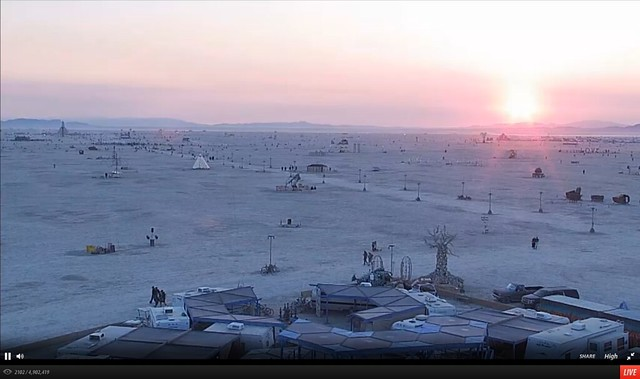 Burning Man 2014 Live Stream