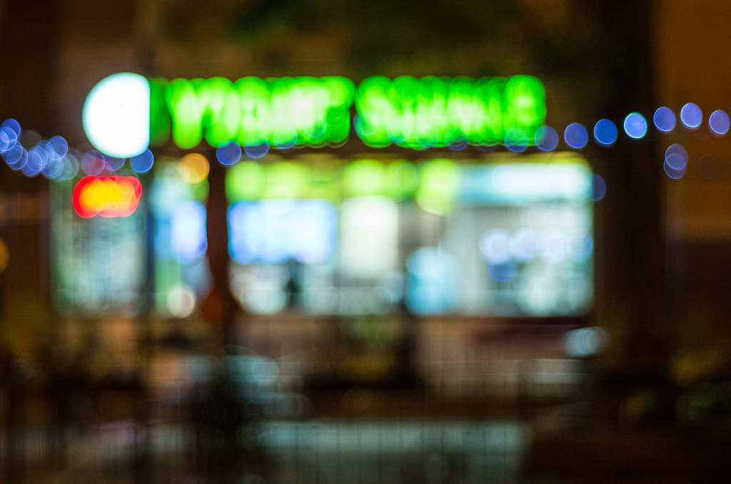 Yogurt Square bokeh