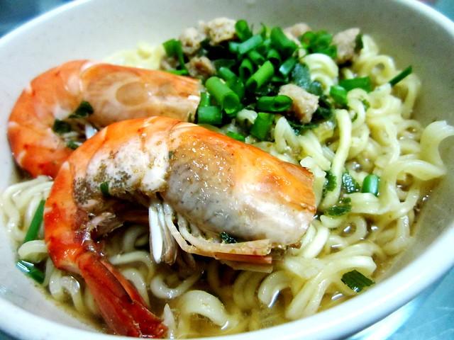 Instant bakso noodles 1