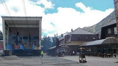 Azau (Terskol) - dolna stacja starej kolei linowej