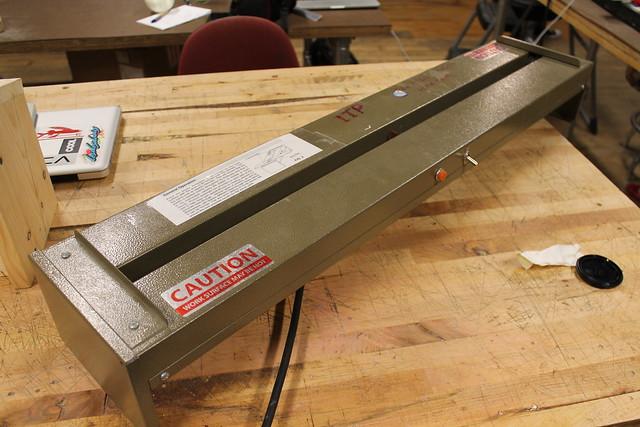 ITP's acrylic bender