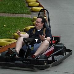 boating(0.0), inflatable boat(0.0), go-kart(1.0), kart racing(1.0), vehicle(1.0),