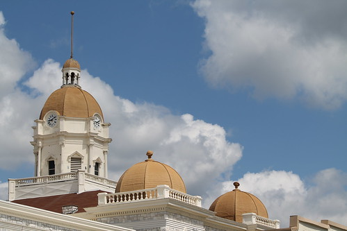 Shelby County Court House Tower and Domes (Columbiana, Alabama)