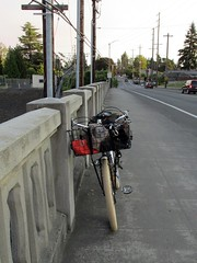The Crested Butte rests on the Vancouver Ave. viaduct