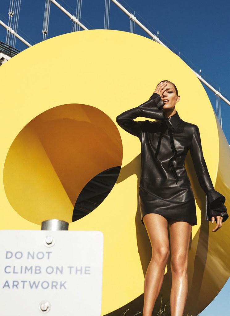 Аня Рубик — Фотосессия для «Bergdorf Goodman» 2016 – 8