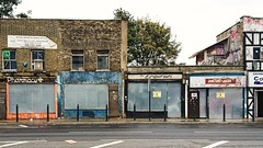 Closed shops, Commercial Road, Limehouse