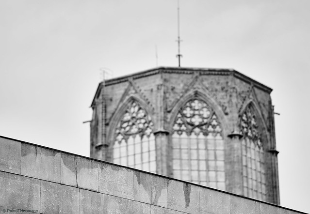Valencia Kathedrale b&w