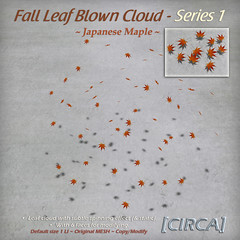 @ The Old Fair ~ [CIRCA] - Fall Leaf Blown Cloud - Series 1 - Jpn Maple