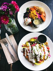 Lunch at Sage Bistro in Echo Park