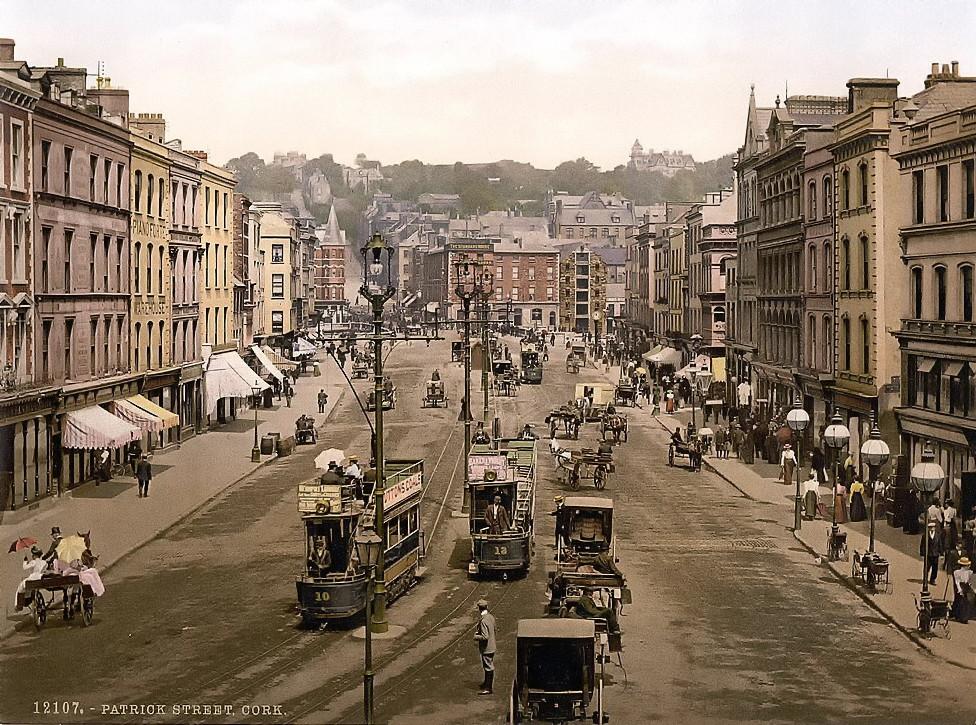 St. Patrick Street, Cork. County Cork, Ireland