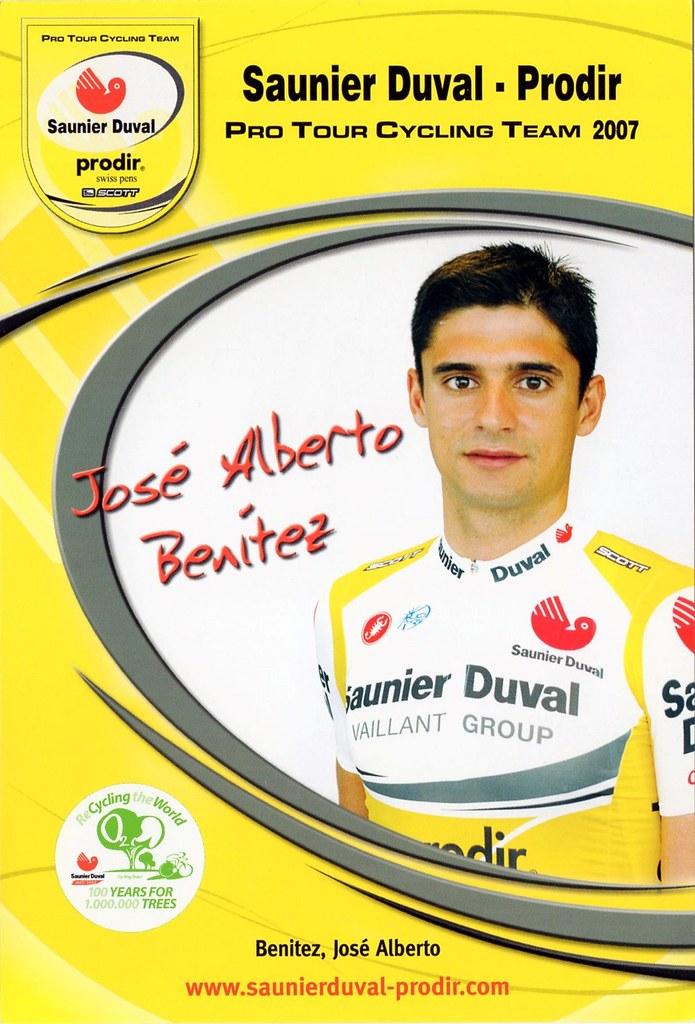 José Alberto Benitez - Saunier Duval Prodir 2007