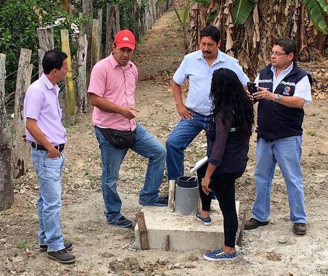 Aguas del Chuno Inspeccionó pozos en Canuto