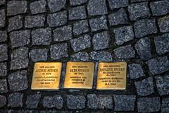 Photo of Meta Kroner brass plaque