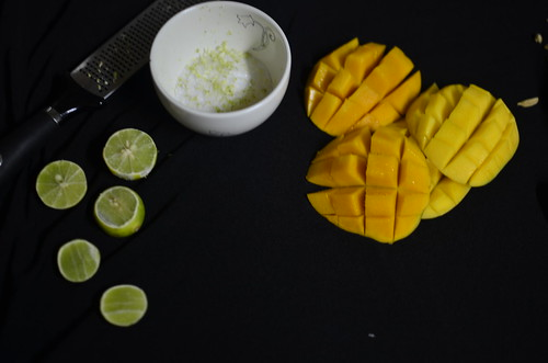 Nigerian dessert: Mango and Lime Dessert