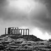 The Sky Opens Over Sounio by Watsons Wanderings