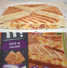 12 - Hochland Toast it! - Vergleich Käse & Salami