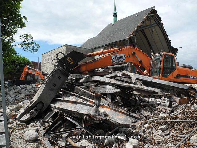 Eglise Notre-Dame-de-la-Paix demolition 6/06/14 15