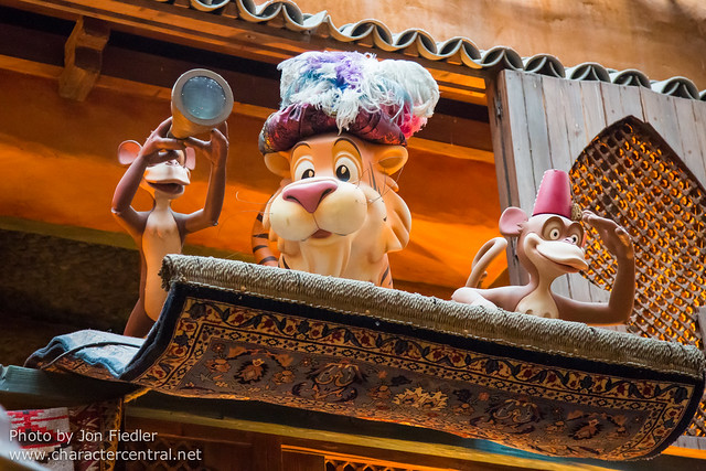 DLP April 2014 - Dinner at Agrabah Cafe Restaurant