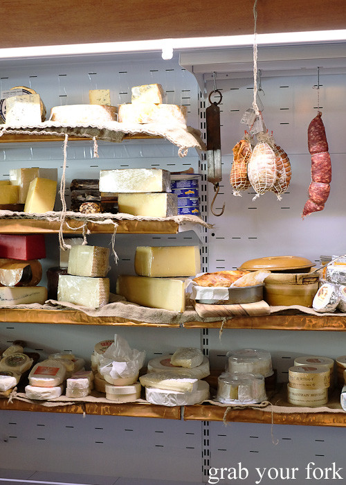 Cheeses and smallgoods at The Stinking Bishops, Newtown