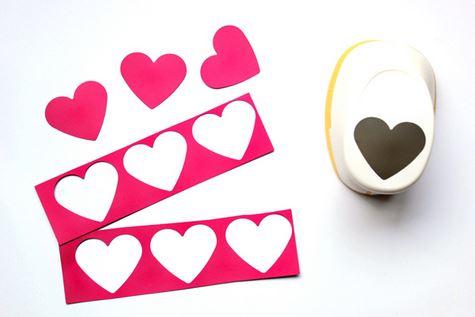 decoracion corazones colgantes 2