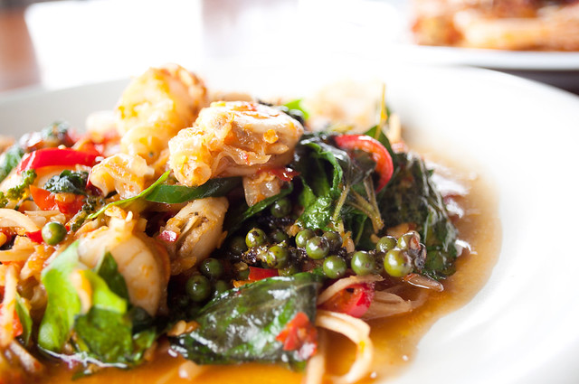 Kraprao Talay | Thai Basil Leaves Seafood Stirfry