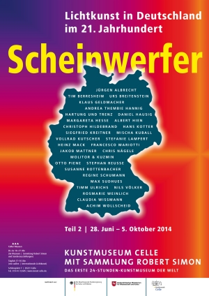 Kunstmuseum Celle Scheinwerfer II 2014