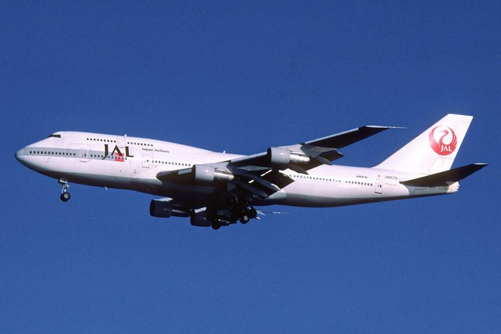 JAL Japan Airlines Boeing 747-300; JA8179, March 2006