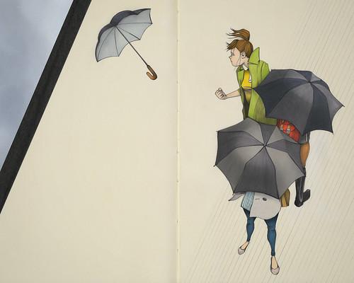 Au Revoir, Parapluie
