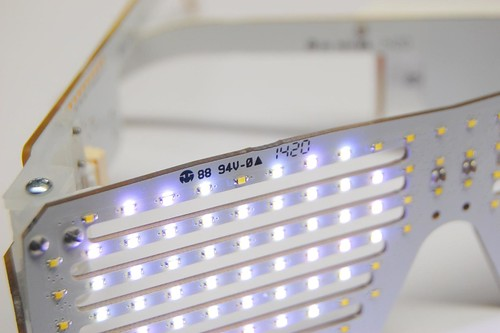 LED Shades close-up