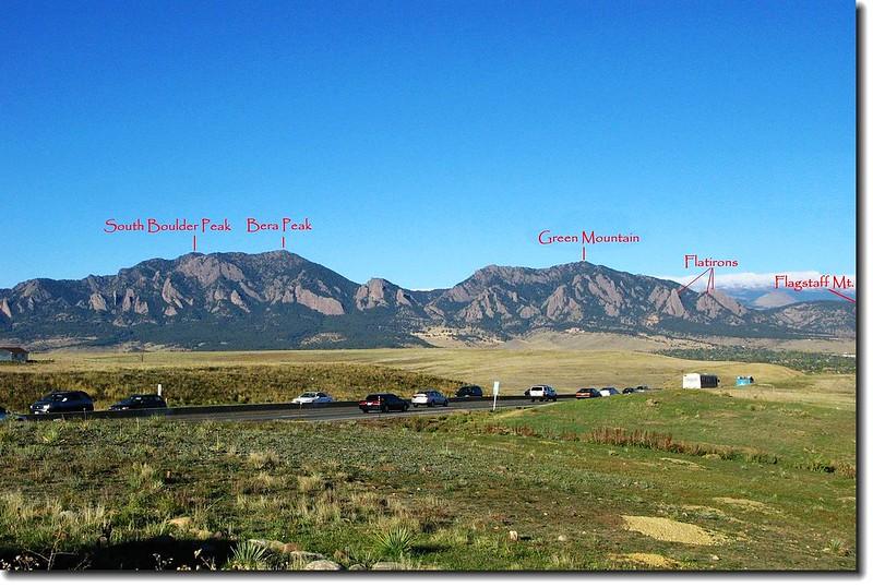 Rockies Viewpoint near Boulder