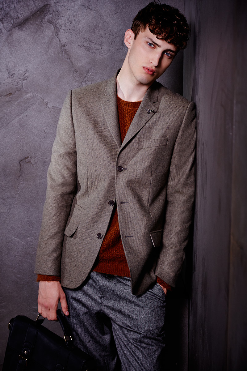 Charlie France0307_River Island's Fall Winter 2014 Lookbook(sight Management Studio)