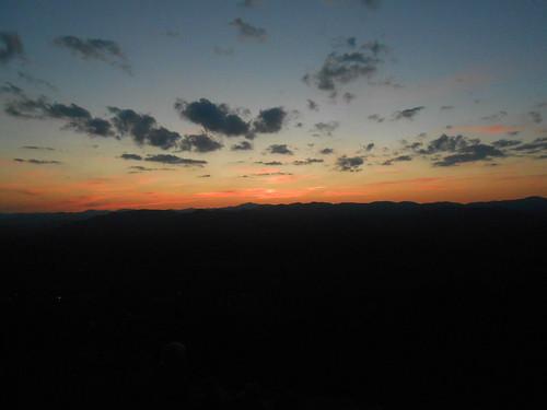 sunset usa georgia july 2014 美国 七月 미국 洛阳 whitecounty mountyonah 格鲁吉亚 治亚洲